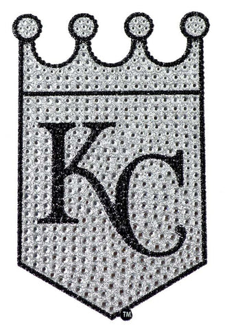 Kansas City Royals Auto Emblem - Rhinestone Bling