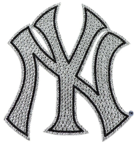 New York Yankees Auto Emblem - Rhinestone Bling
