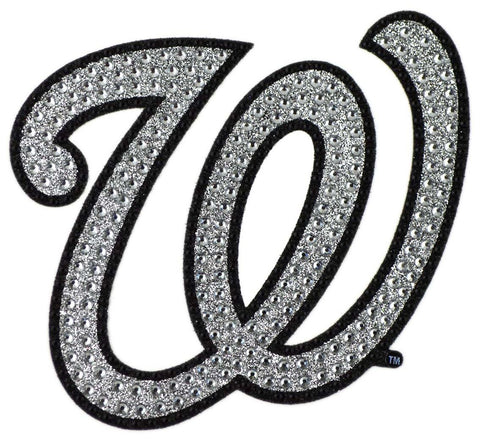 Washington Nationals Auto Emblem - Rhinestone Bling