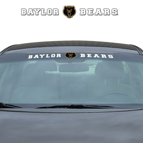 Baylor Bears Decal 35x4 Windshield