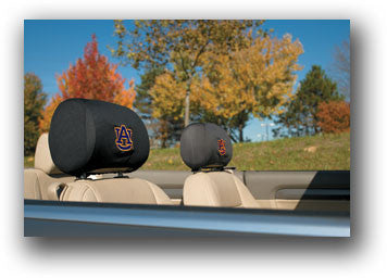 NCAA Officially licensed products Auburn Tigers Headrest Covers Set Of 2 These Headrest Covers are made from a soft elastic