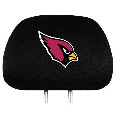 NFL Officially licensed products Arizona Cardinals Headrest Covers Set Of 2 These Headrest Covers are made from a soft elast