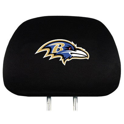 NFL Officially licensed products Baltimore Ravens Headrest Covers Set Of 2 These Headrest Covers are made from a soft elasti