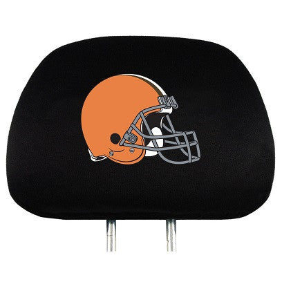 NFL Officially licensed products Cleveland Browns Headrest Covers Set Of 2 These Headrest Covers are made from a soft elasti
