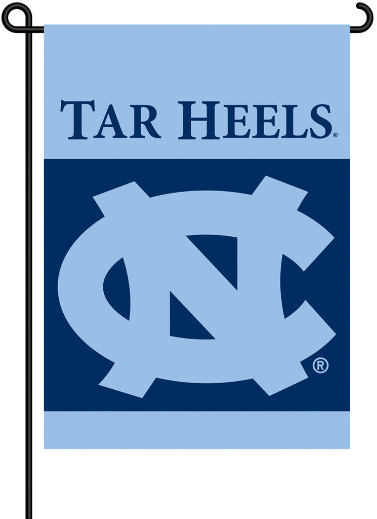 NCAA Officially licensed products North Carolina Tar Heels 2-Sided Garden Flag  Support your favorite team by hanging up thi