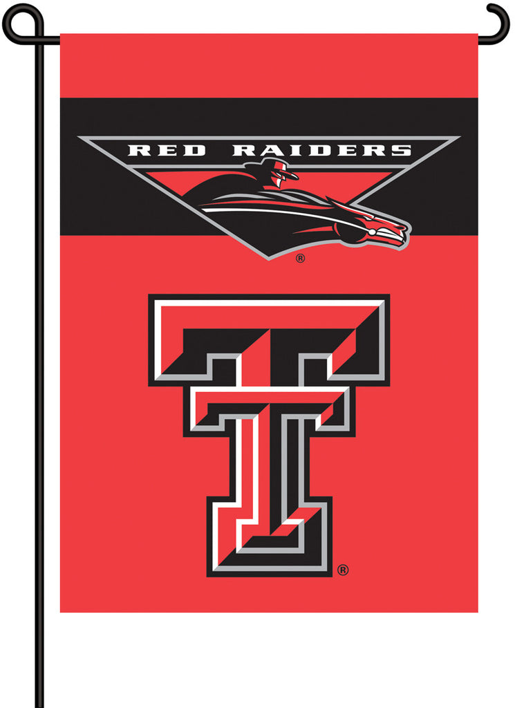 NCAA Officially licensed products Texas Tech Red Raiders 2-Sided Garden Flag  Support your favorite team by hanging up this