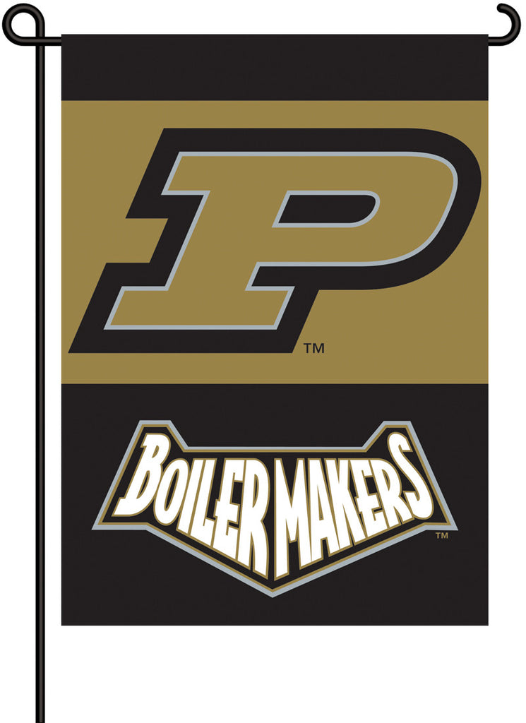 NCAA Officially licensed products Purdue Boilermakers 2-Sided Garden Flag  Support your favorite team by hanging up this two