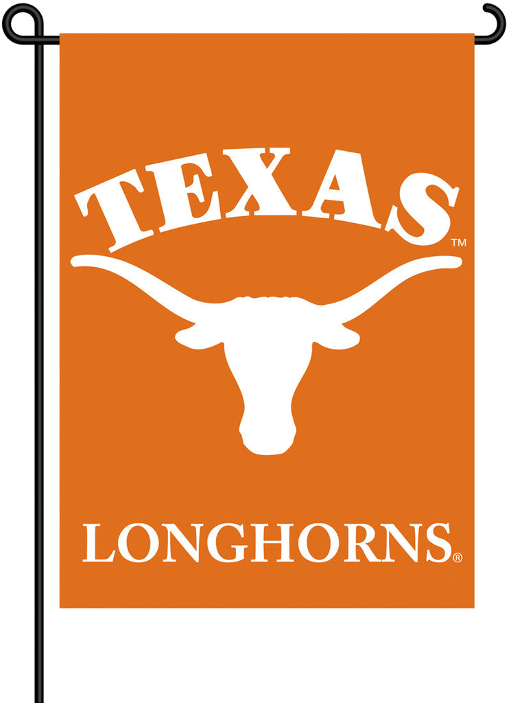 NCAA Officially licensed products Texas Longhorns 2-Sided Garden Flag  Support your favorite team by hanging up this two-sid