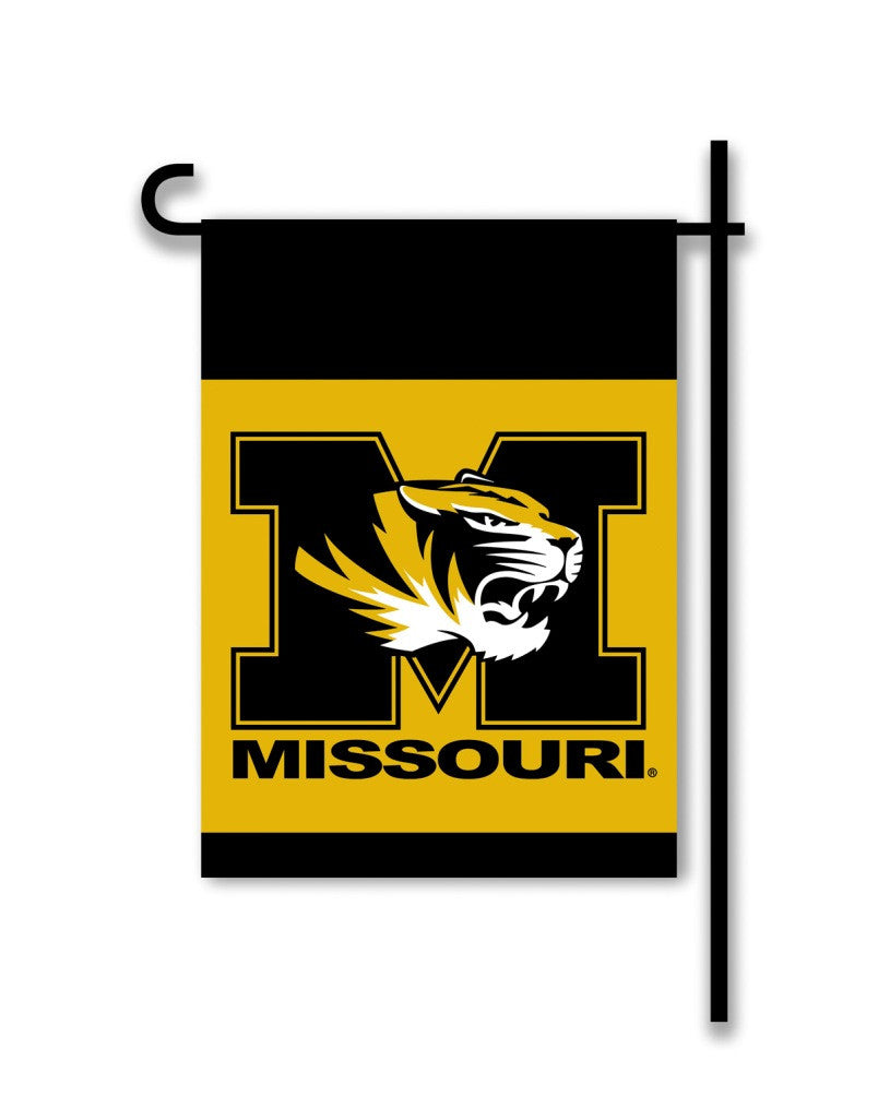 NCAA Officially licensed products Missouri Tigers 2-Sided Garden Flag  Support your favorite team by hanging up this two-sid