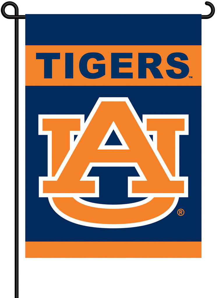 NCAA Officially licensed products Auburn Tigers 2-Sided Garden Flag  Support your favorite team by hanging up this two-sided