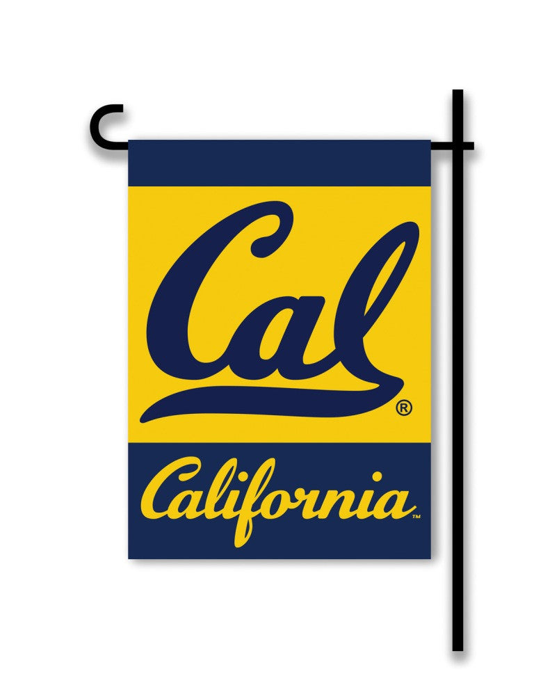 NCAA Officially licensed products Cal Berkeley Golden Bears 2-Sided Garden Flag  Support your favorite team by hanging up th