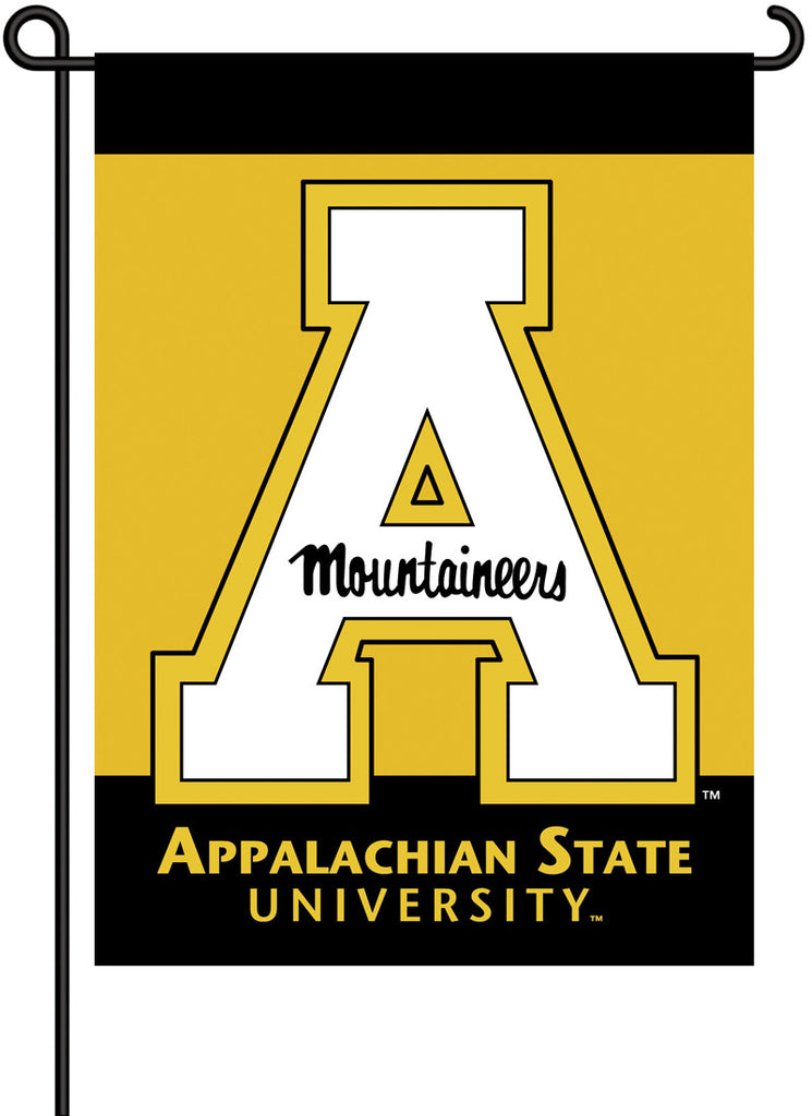 NCAA Officially licensed products Appalachian State 2-Sided Garden Flag  Support your favorite team by hanging up this two-s