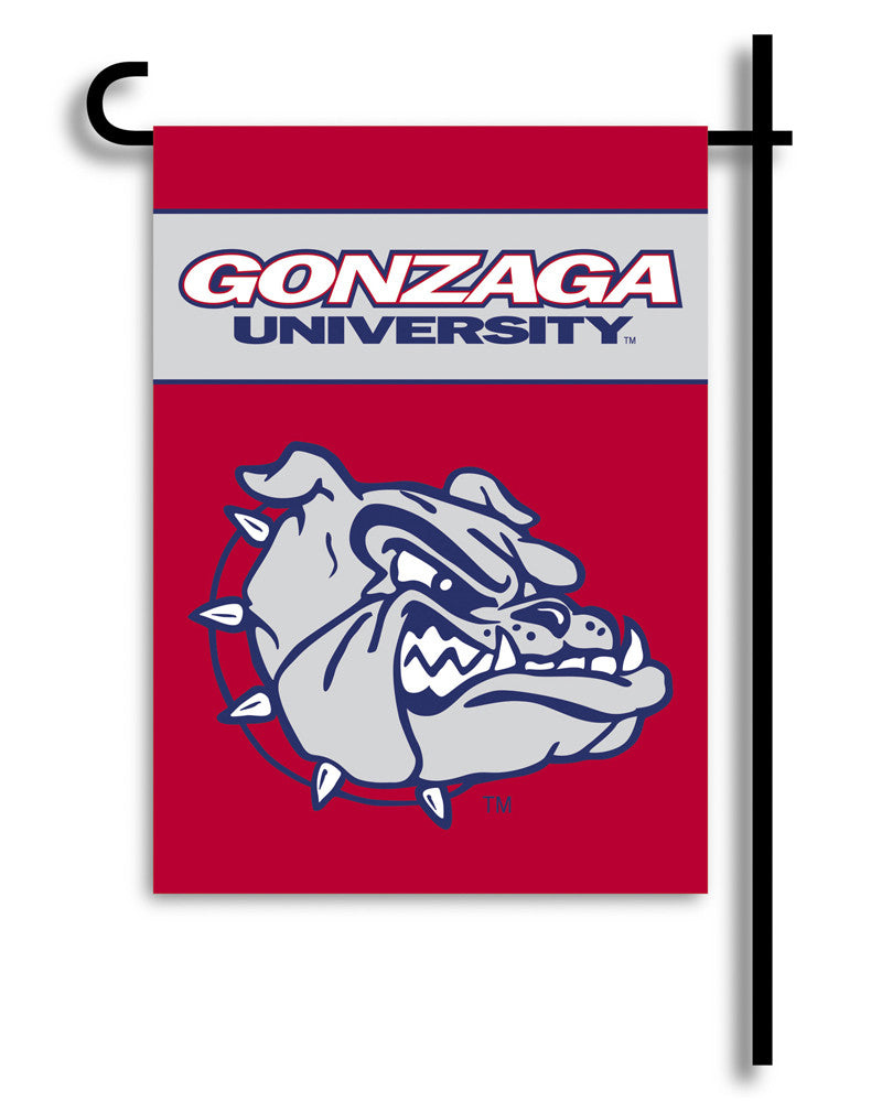 NCAA Officially licensed products Gonzaga Bulldogs 2-Sided Garden Flag  Support your favorite team by hanging up this two-si