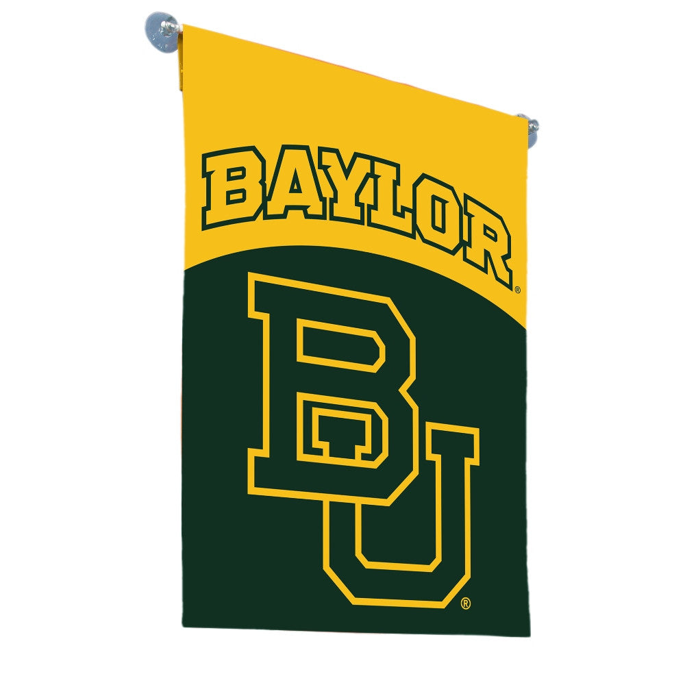 NCAA Officially licensed products Baylor Bears 2-Sided Garden Flag  Support your favorite team by hanging up this two-sided