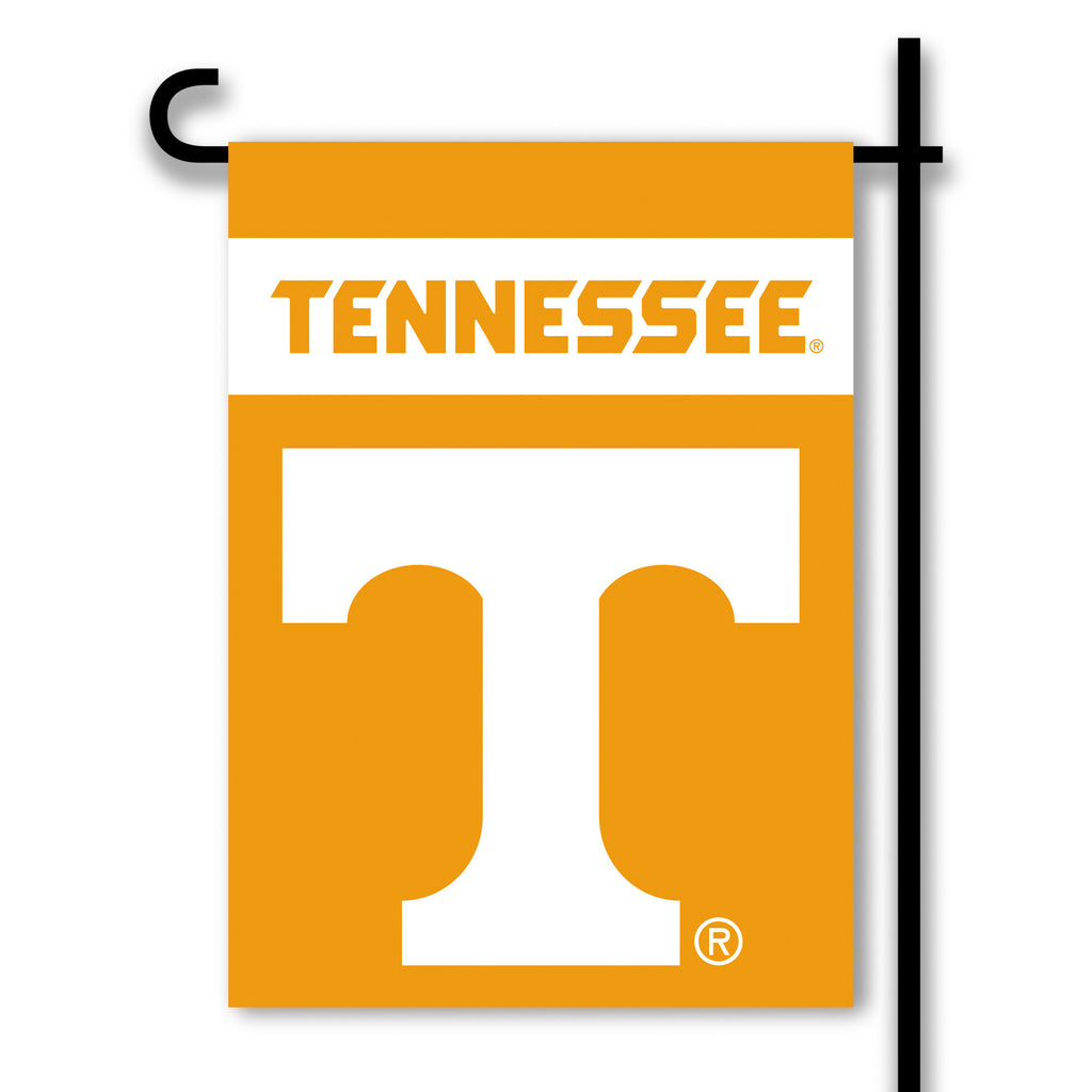 NCAA Officially licensed products Tennessee Volunteers 2-Sided Garden Flag  Support your favorite team by hanging up this tw