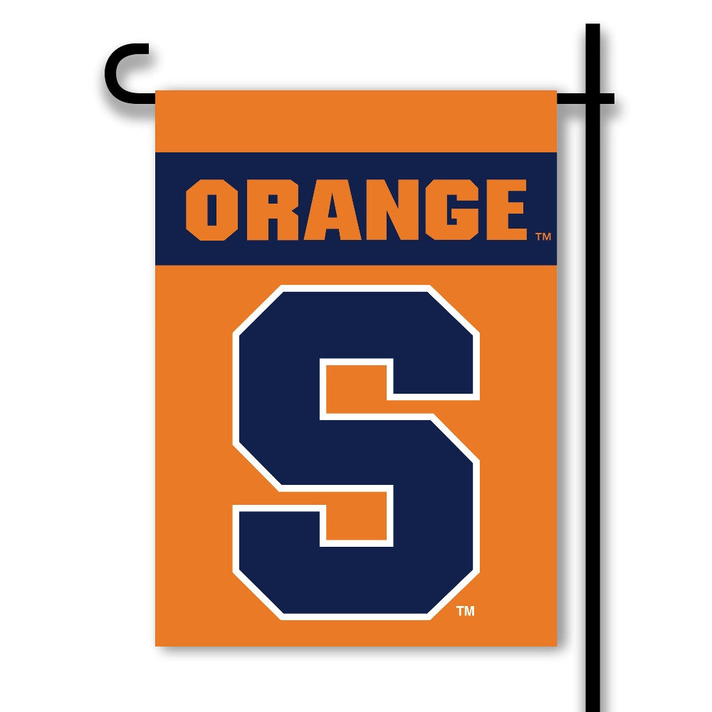 NCAA Officially licensed products Syracuse Orange 2-Sided Garden Flag  Support your favorite team by hanging up this two-sid