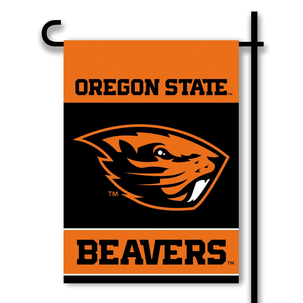 NCAA Officially licensed products Oregon State Beavers 2-Sided Garden Flag  Support your favorite team by hanging up this tw