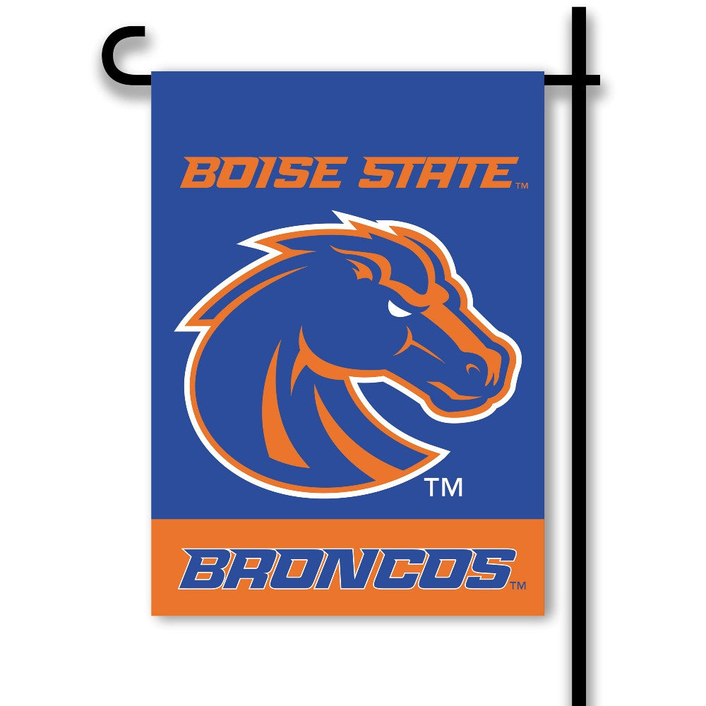 NCAA Officially licensed products Boise State Broncos 2-Sided Garden Flag  Support your favorite team by hanging up this two