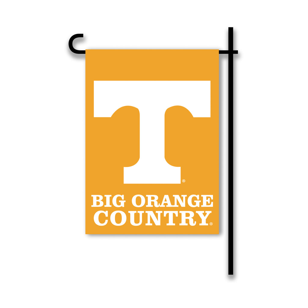 NCAA Officially licensed products Tennessee Volunteers 2-Sided Country Garden Flag Support your favorite team by hanging up