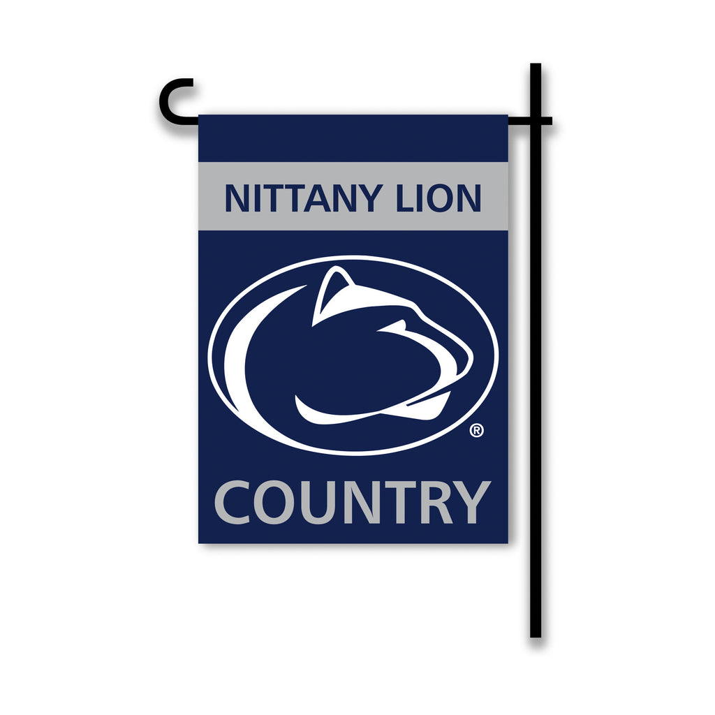 NCAA Officially licensed products Penn State Nittany Lions 2-Sided Country Garden Flag Support your favorite team by hanging