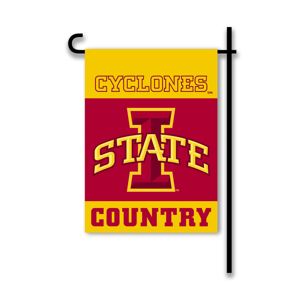 NCAA Officially licensed products Iowa State Cyclones 2-Sided Country Garden Flag Support your favorite team by hanging up t