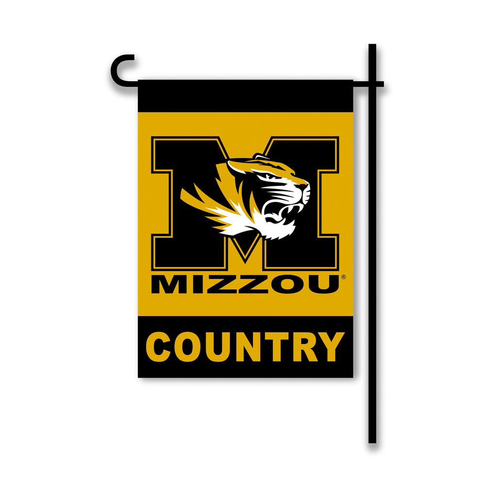 NCAA Officially licensed products Missouri Tigers 2-Sided Country Garden Flag Support your favorite team by hanging up this