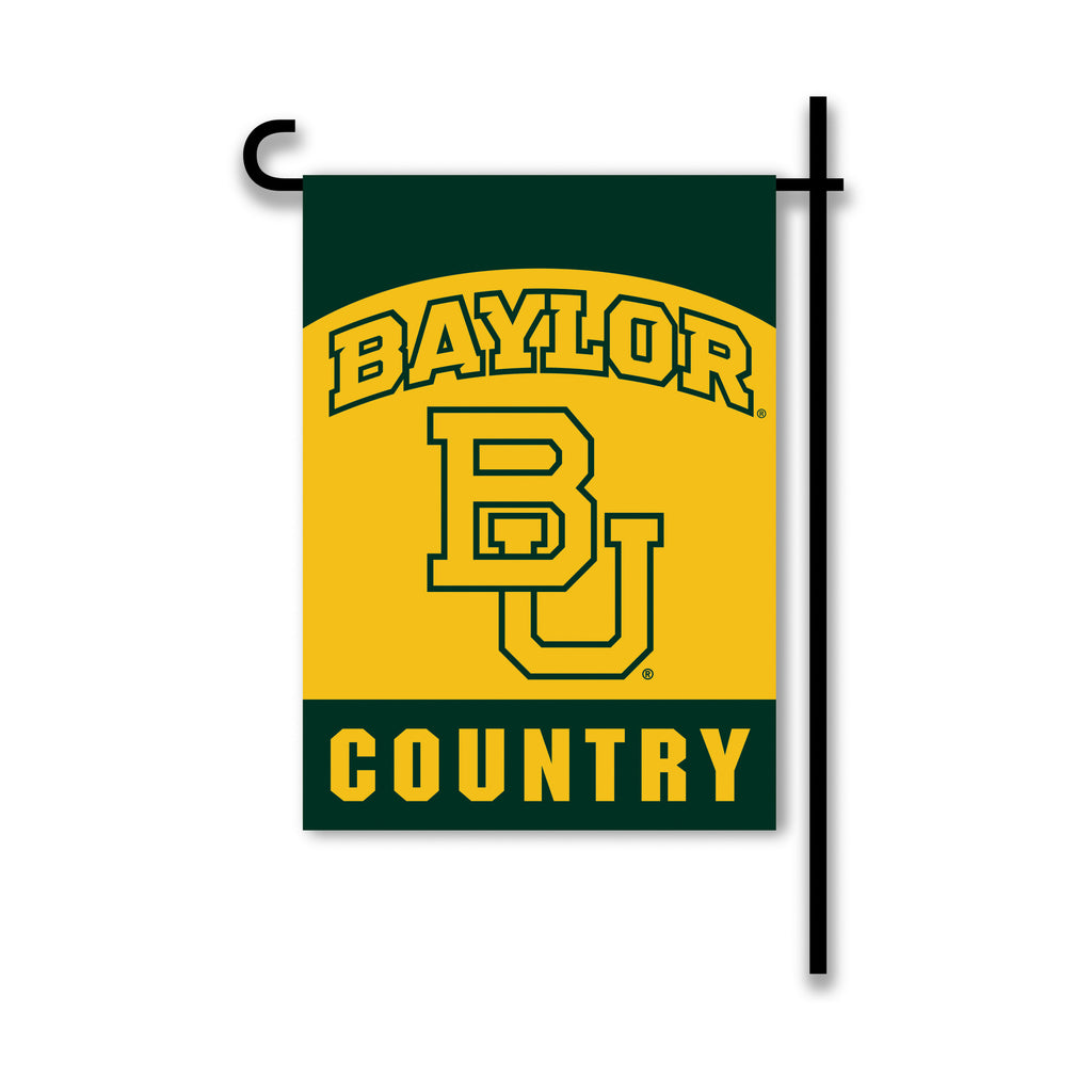 NCAA Officially licensed products Baylor Bears 2-Sided Country Garden Flag Support your favorite team by hanging up this two