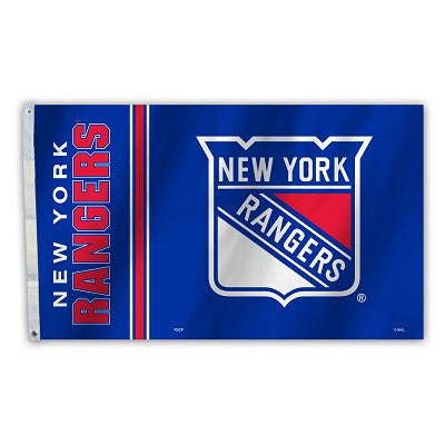NHL Officially licensed products New York Rangers 3 Ft. X 5 Ft. Flag W/Grommetts Show everyone that you are a die-hard fan b