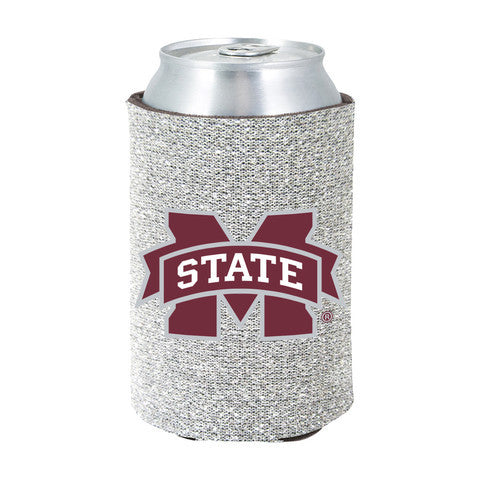 Mississippi State Bulldogs Kolder Kaddy Can Holder - Glitter