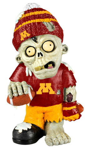 Minnesota Golden Gophers Zombie Figurine - Thematic w/Football