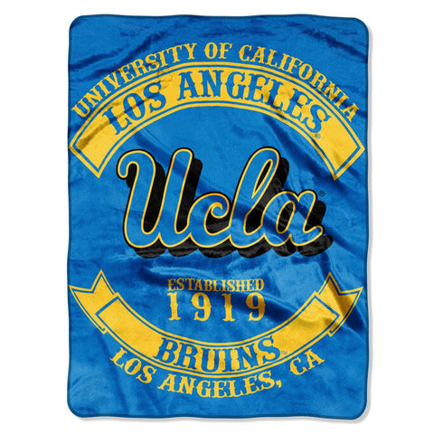 UCLA Bruins Blanket 60x80 Raschel Rebel Design
