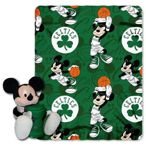 Boston Celtics Blanket Disney Hugger