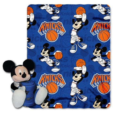 New York Knicks Blanket Disney Hugger