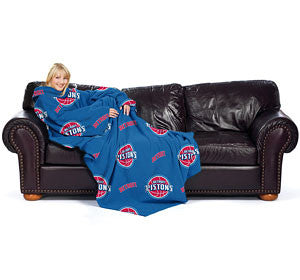 "Detroit Pistons 48""x71"" Comfy Throw"