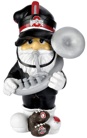 "Ohio State Buckeyes Garden Gnome - 11"" Thematic - Second String"