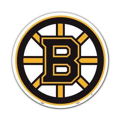 "NHL Officially licensed products Boston Bruins Vinyl Magnet  Show your team spirit proudly with this  12"" Vinyl Magnet. Each"