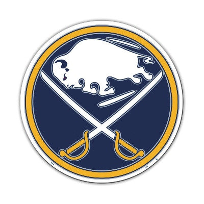 "NHL Officially licensed products Buffalo Sabres Vinyl Magnet  Show your team spirit proudly with this  12"" Vinyl Magnet. Eac"