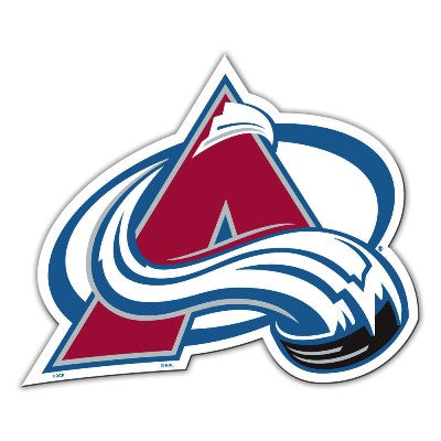 "NHL Officially licensed products Colorado Avalanche Vinyl Magnet  Show your team spirit proudly with this  12"" Vinyl Magnet."