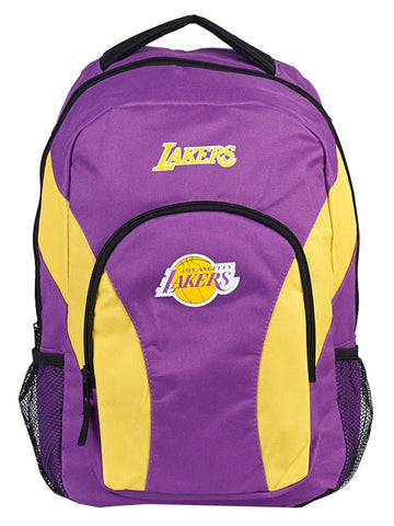 Los Angeles Lakers Backpack Draftday Style Purple