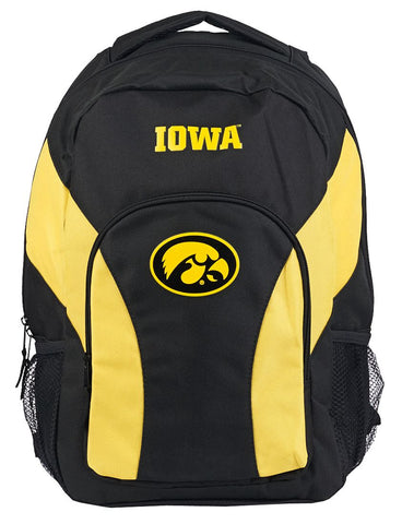 Iowa Hawkeyes Backpack Draftday Style Black