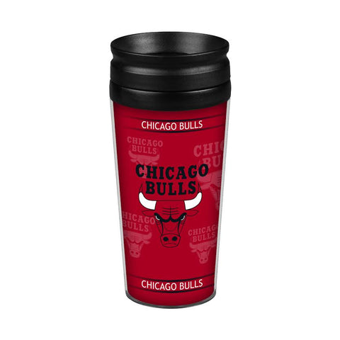 Chicago Bulls 14oz. Full Wrap Travel Mug