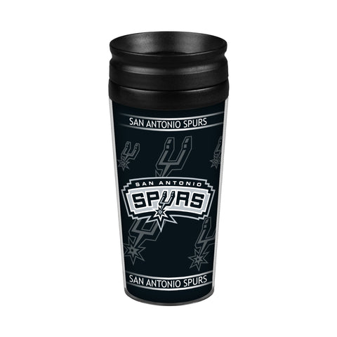San Antonio Spurs 14oz. Full Wrap Travel Mug