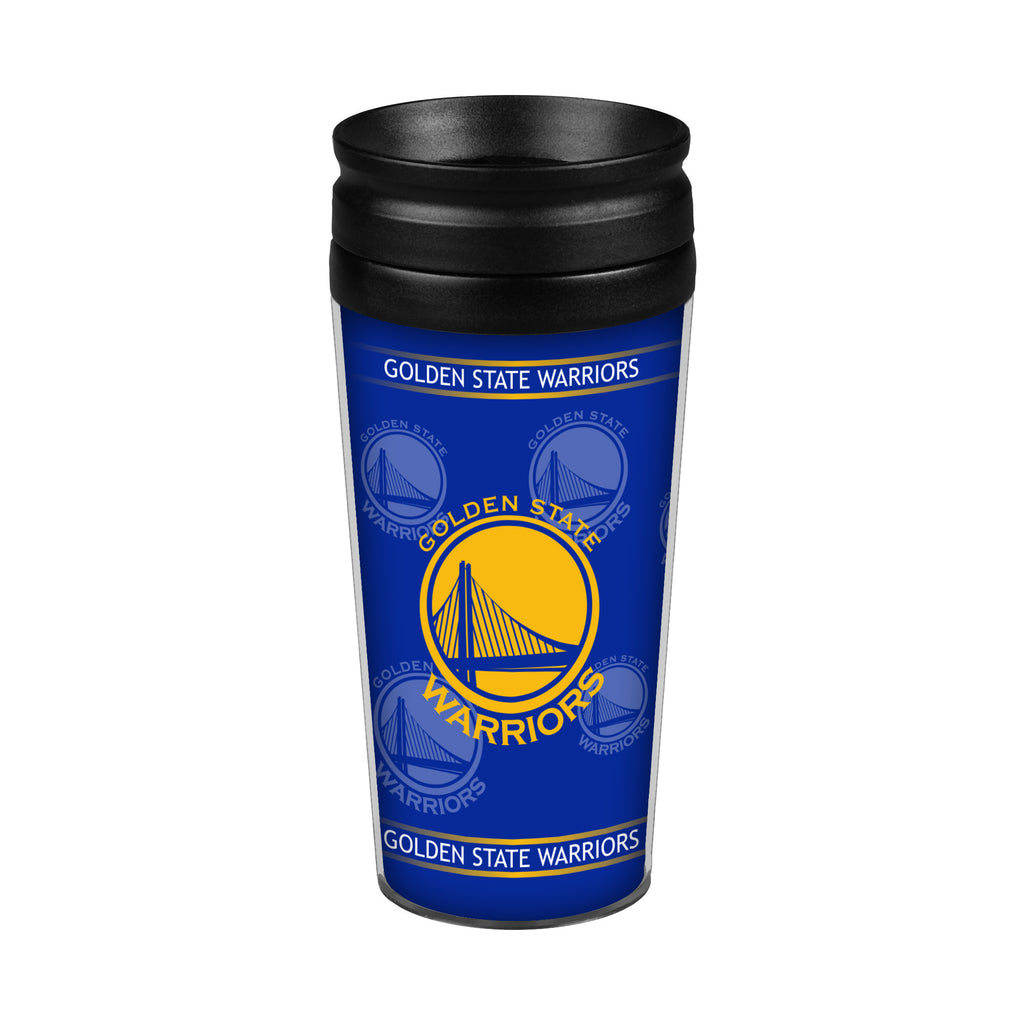 Golden State Warriors 14oz. Full Wrap Travel Mug