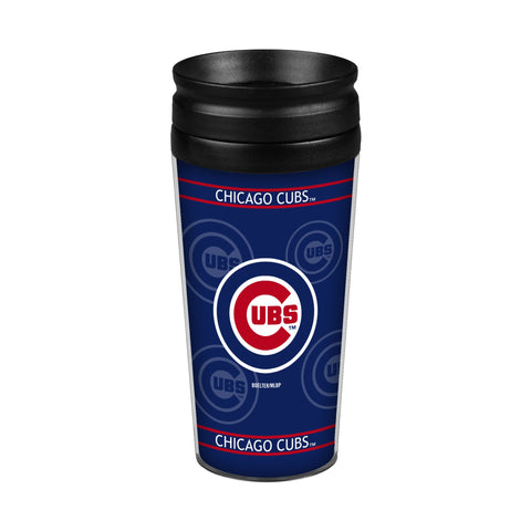 Chicago Cubs 14oz. Full Wrap Travel Mug