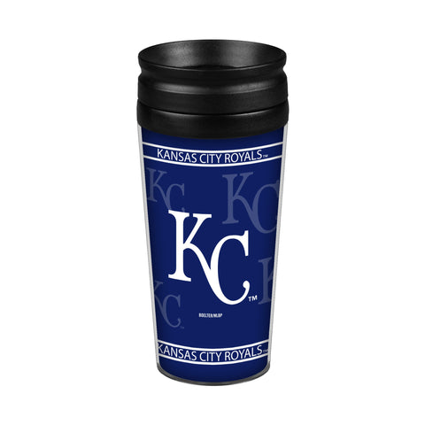Kansas City Royals 14oz. Full Wrap Travel Mug