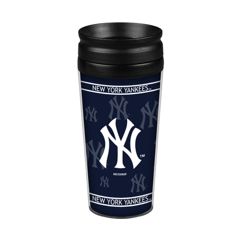 New York Yankees 14oz. Full Wrap Travel Mug