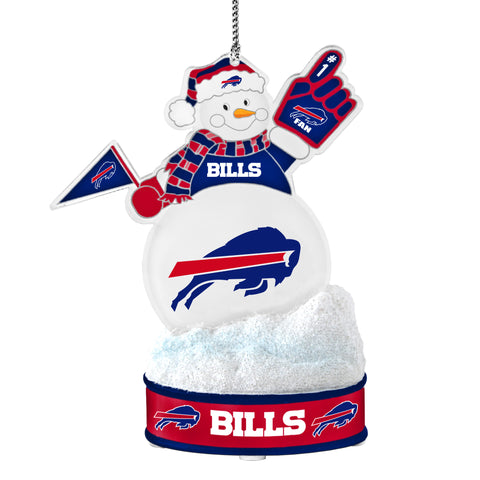 Buffalo Bills  Ornament - LED Snowman