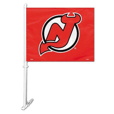 NHL Officially licensed products New Jersey Devils Car Flag  Show your team spirit proudly with this NHL car flag. Each 11-i