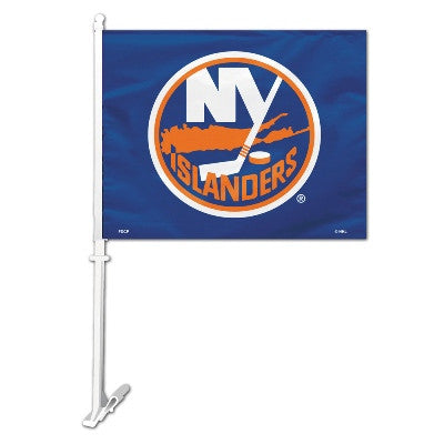 NHL Officially licensed products New York Islanders Car Flag  Show your team spirit proudly with this NHL car flag. Each 11-