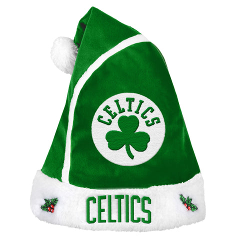 Boston Celtics Basic Santa Hat - 2015